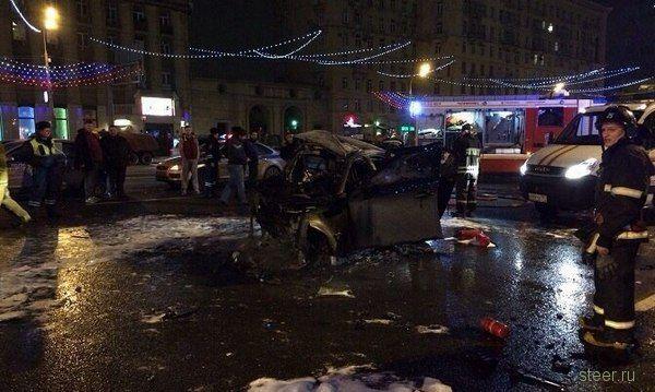 Предполагаемый виновник ДТП на Кутузовском уже попадал в поле зрения полиции
