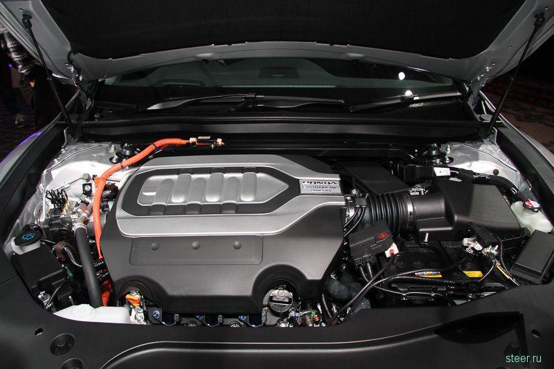Хонда представила новый Honda Legend