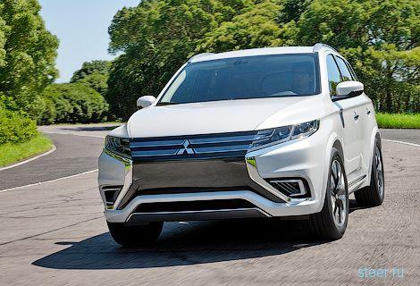 Новый Mitsubishi Outlander будут собирать в Калуге