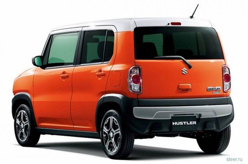 Suzuki Hustler выбран автомобилем года в Японии