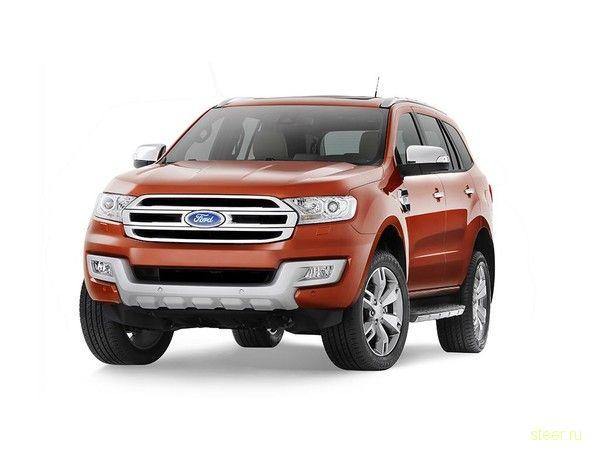 Новый внедорожник Ford Everest: первые официальные фото и информация