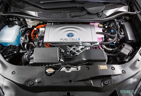 «Тойота» выпустит первую водородную модель Mirai
