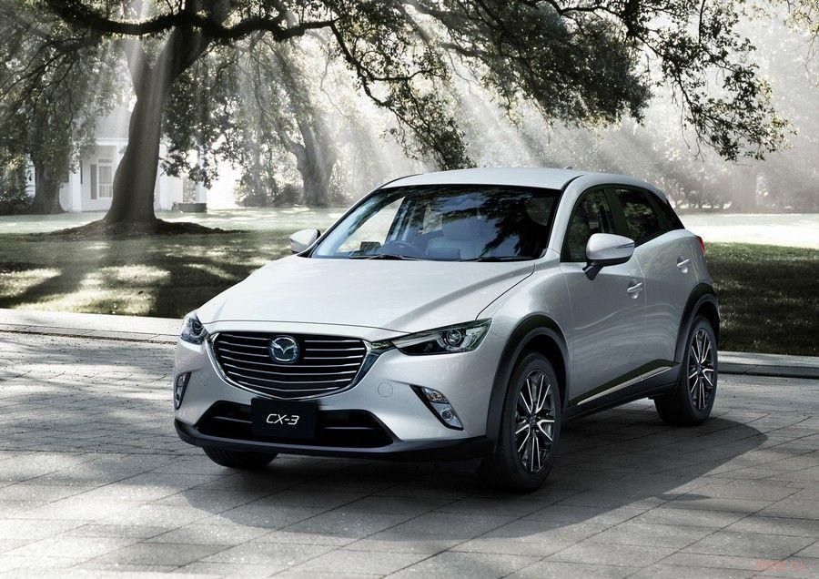 Mazda официально представила новый кроссовер CX-3