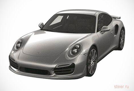 Первые изображения обновленного Porsche 911