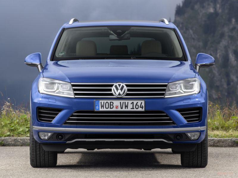 Новый Volkswagen Touareg : от 2 192 000 рублей