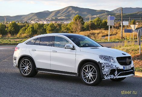 Первые фото Mercedes-Benz GLE Coupe