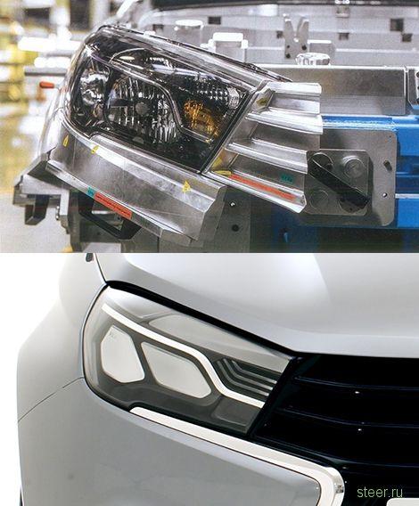 АВТОВАЗ показал оптику серийной Lada Vesta