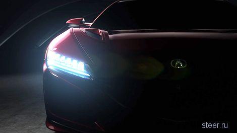 «Хонда» показала первые фото нового суперкара Acura NSX