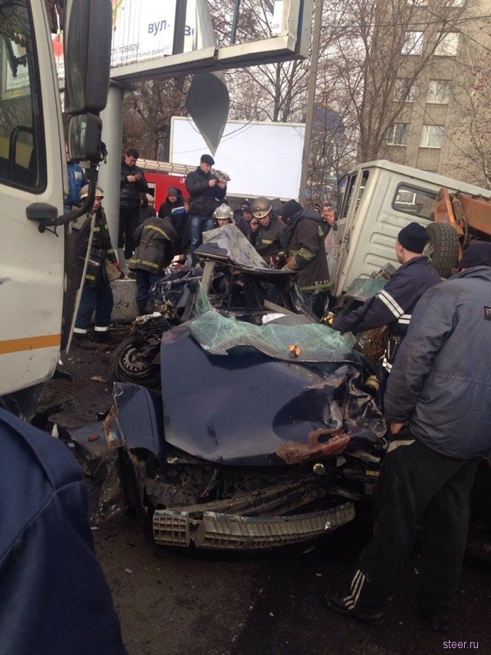 Страшное ДТП в Днепропетровске