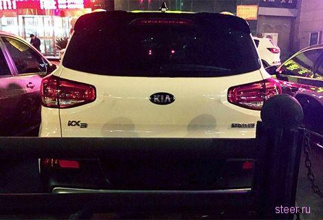 Первые фото новой модели Kia KX3