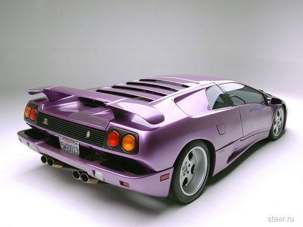 Уникальный фиолетовый Lamborghini продается за $275 000