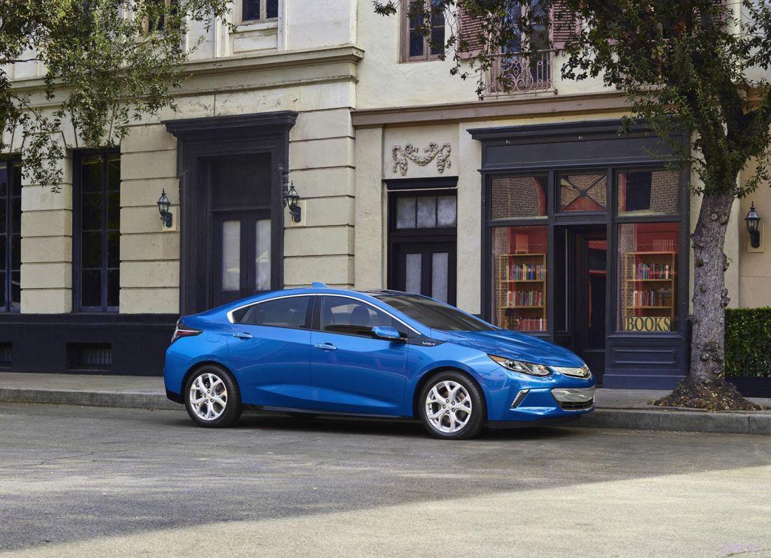 Представлено новое поколение Chevrolet Volt