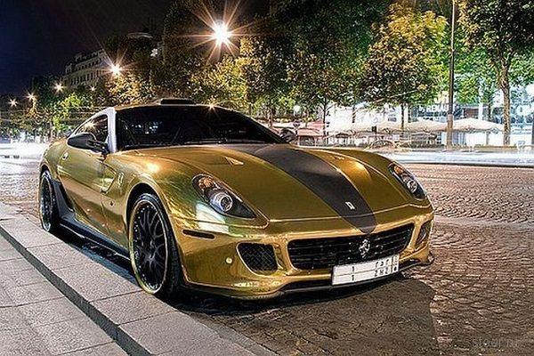 Авто из золота: Безвкусица за миллионы