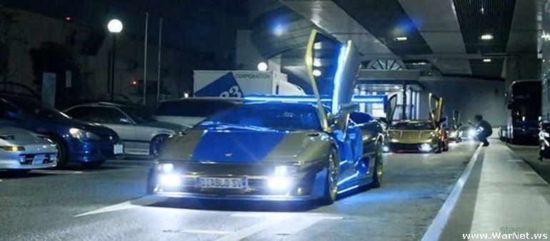 В Токио прошел съезд владельцев уникальных суперкаров Lamborghini