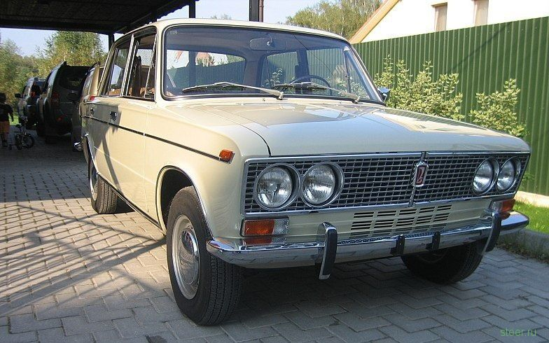 Капсула времени: ВАЗ-2103 1975-го года с пробегом 378 км