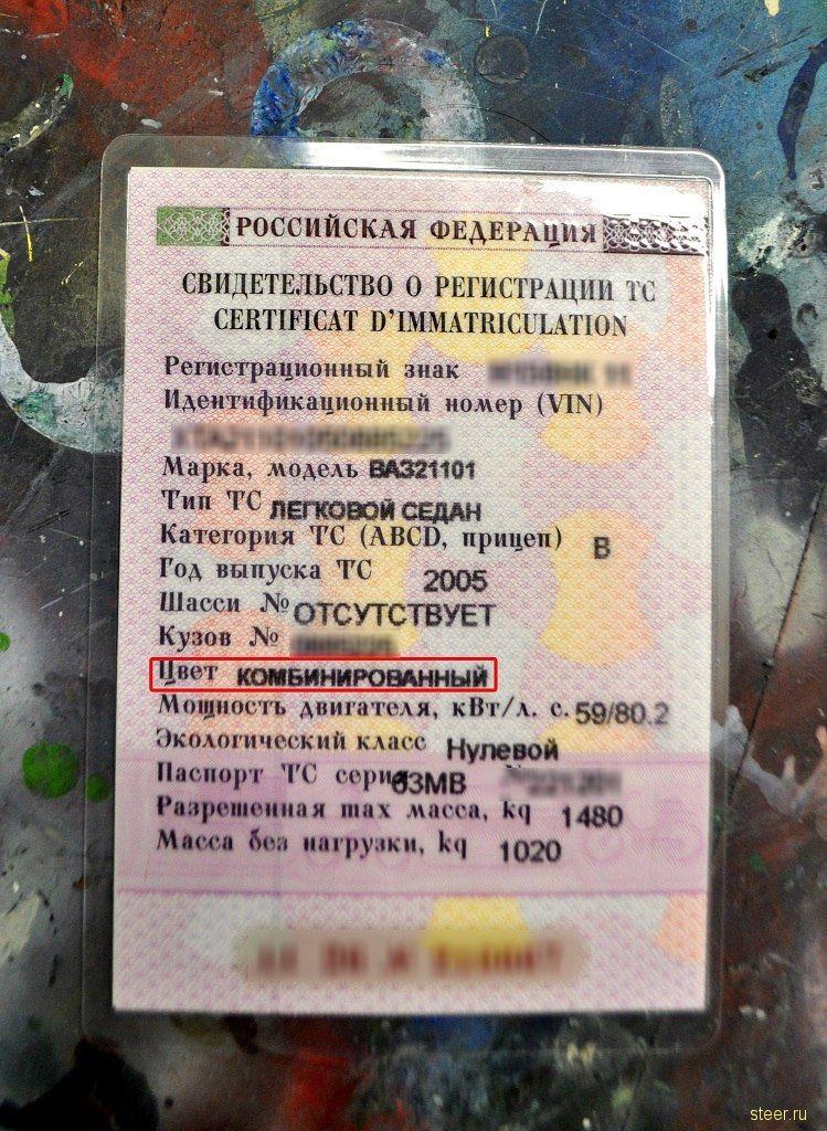 Художница из Коми сделала для отца-пограничника патриотичный ВАЗ