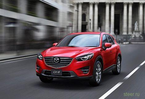 Обновленные Mazda6 и кроссовер Mazda CX-5 появятся в России в феврале