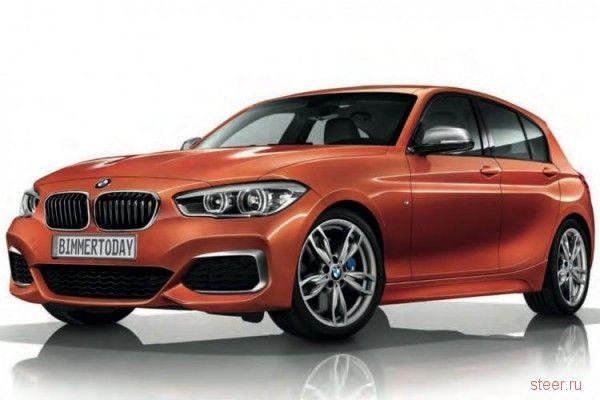 Первые официальные фото BMW M135i
