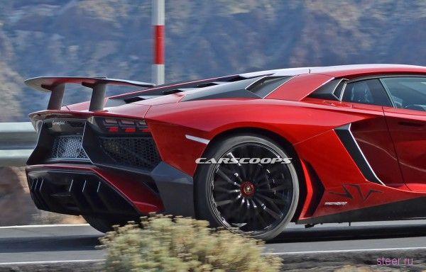 Первые фото самого мощного Lamborghini Aventador