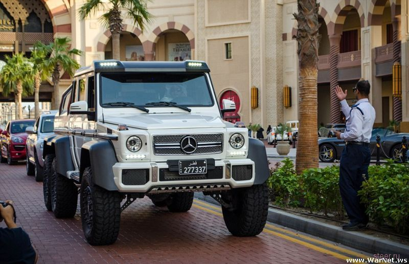 Роскошные суперкары Катара