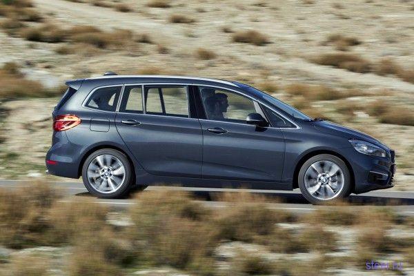 BMW 2-Series Gran Tourer : официальные фото и информация