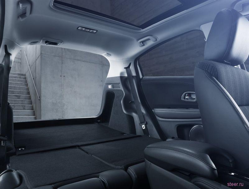 Хонда показала версию кроссовера HR-V с дизелем