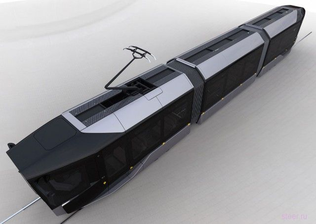 Серийная версия трамвая R1
