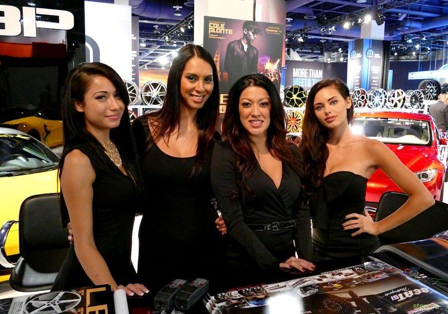 Лучшие девушки тюнинг-шоу в Лас-Вегасе