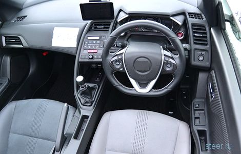 «Хонда» начала тестировать субкомпактный родстер S660