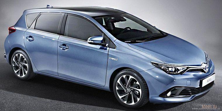 Toyota показала Auris нового поколения