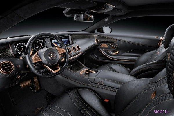 Новый Brabus 850 6.0 Biturbo Coupe : первые фото и информация