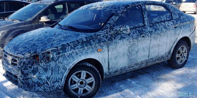 Lada Vesta замечена на дорогах Тольятти