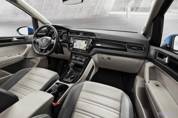 Официально представлен полностью новый Volkswagen Touran