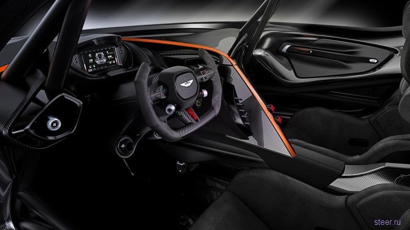 Официальные фото суперкара Aston Martin Vulcan мощностью 800 л.с.