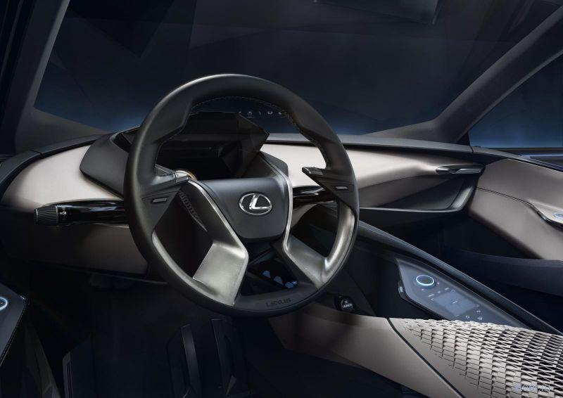 Lexus показали изображения нового концепта Lexus LF-SA