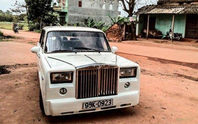 Вьетнамский автослесарь, сделал из Жигулей Rolls-Royce