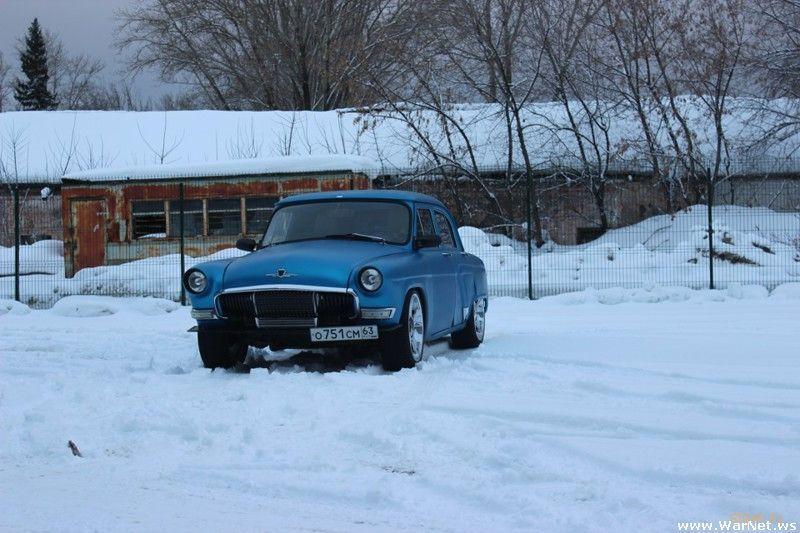 ГАЗ-21 с двигателем 2JZ-GTE