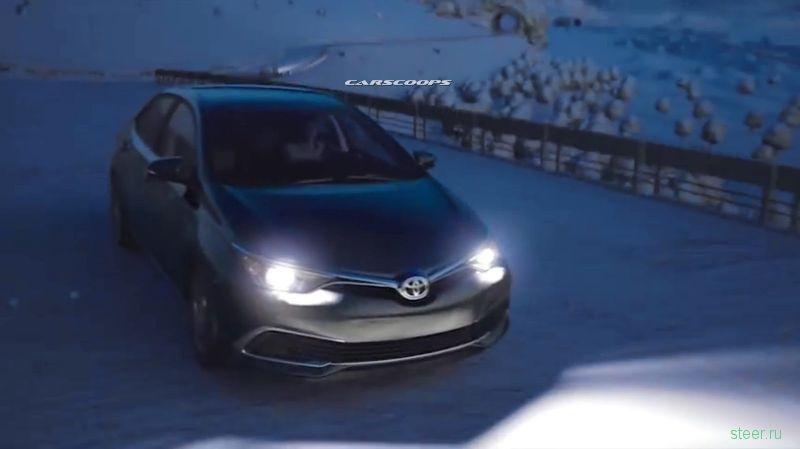 В сети появились фото новой необычной Toyota Corolla