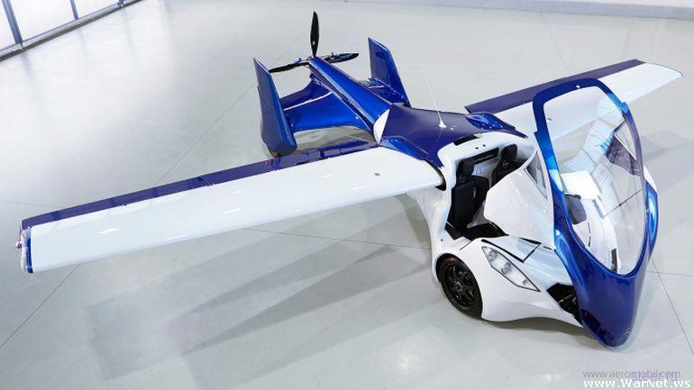 В 2017 году начнется серийное производство летающих автомобилей