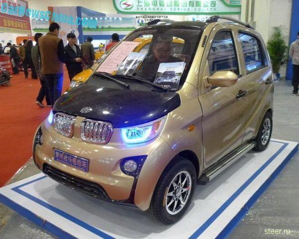 Китайская электрическая BMW i3 за 4000 долларов