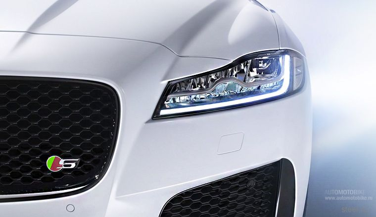 Официально представлен новый Jaguar XF 2016 года