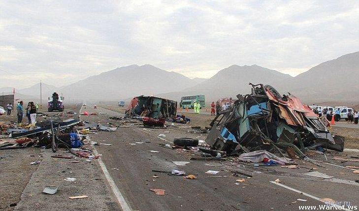 В ДТП в Перу погибло свыше 40 человек