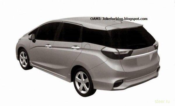 Первые изображения нового Honda Fit/Jazz Shuttle