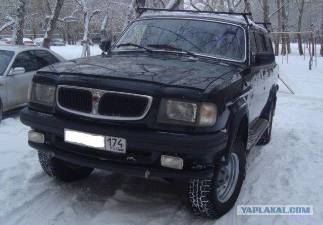 Настоящий внедорожник на базе УАЗа и Волги
