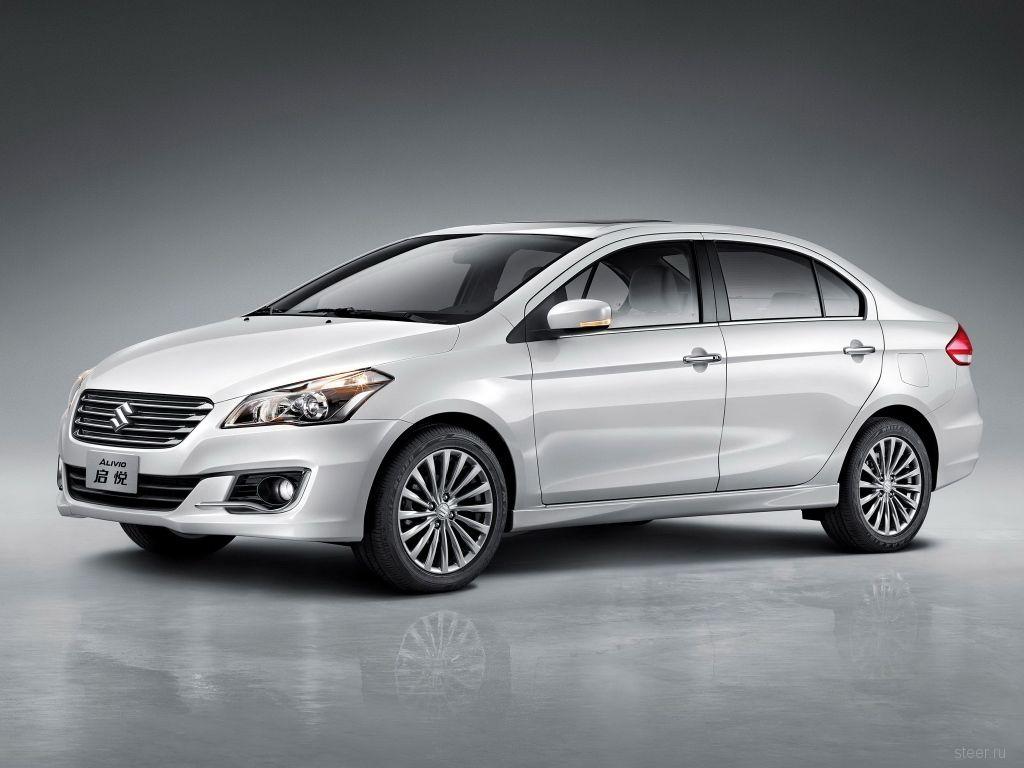 Suzuki будет продавать в России компактный седан Alivio