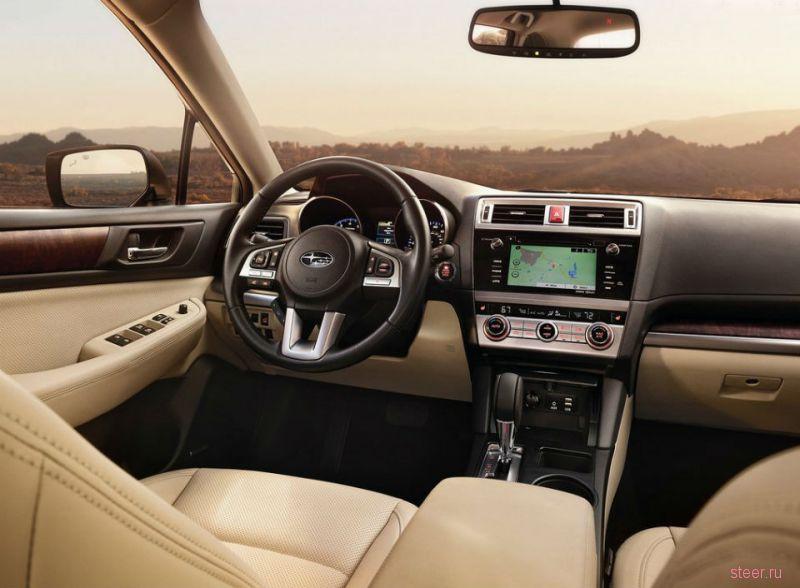 Subaru представят универсал Outback для России уже летом 2015 года