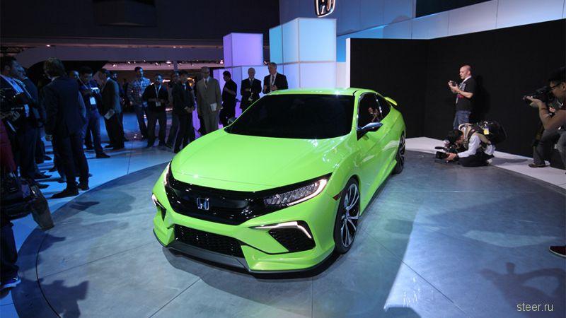 Представлен предвестник новой Honda Civic
