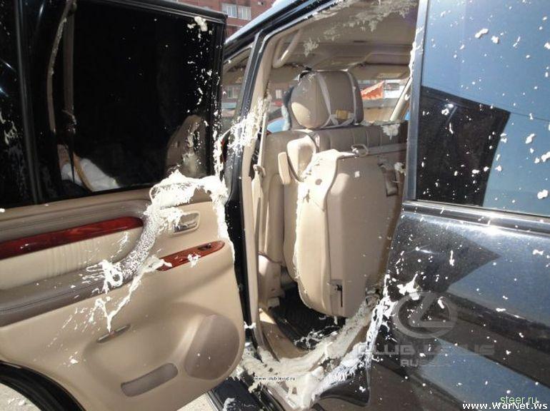 «Антисмекалка» владельца внедорожника Lexus LX 470
