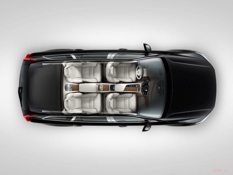 Volvo XC90 Excellence : самая роскошная комплектация нового XC90