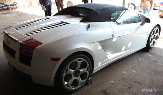 Lamborghini Gallardo Spyder продают через магазин конфискованных товаров